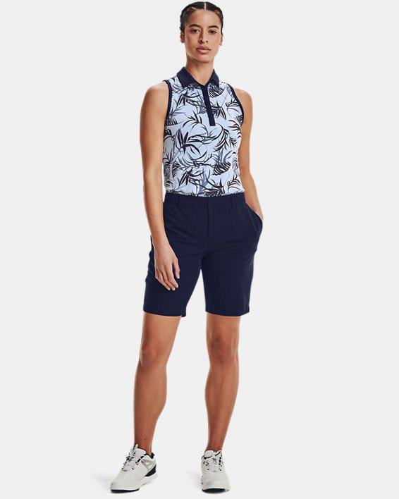 Women's UA Links Shorts, Navy, pdpMainDesktop image number 2