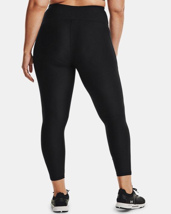 Women's HeatGear® Armour No-Slip Waistband Full-Length Leggings, Black, pdpMainDesktop image number 2