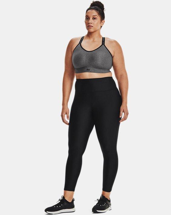 Women's HeatGear® Armour No-Slip Waistband Full-Length Leggings, Black, pdpMainDesktop image number 0