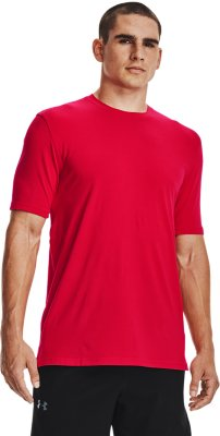 Under Armour Men/'s UA Undeniable Baseball 3//4 Sleeve Shirt Red//Anthracite