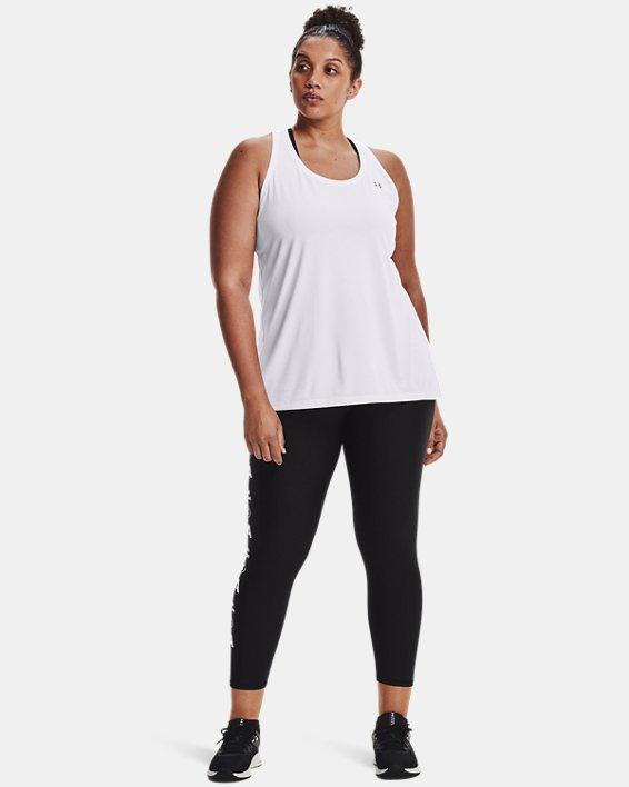 Leggings HeatGear® Armour No-Slip Waistband Graphic Ankle para mujer, Black, pdpMainDesktop image number 0