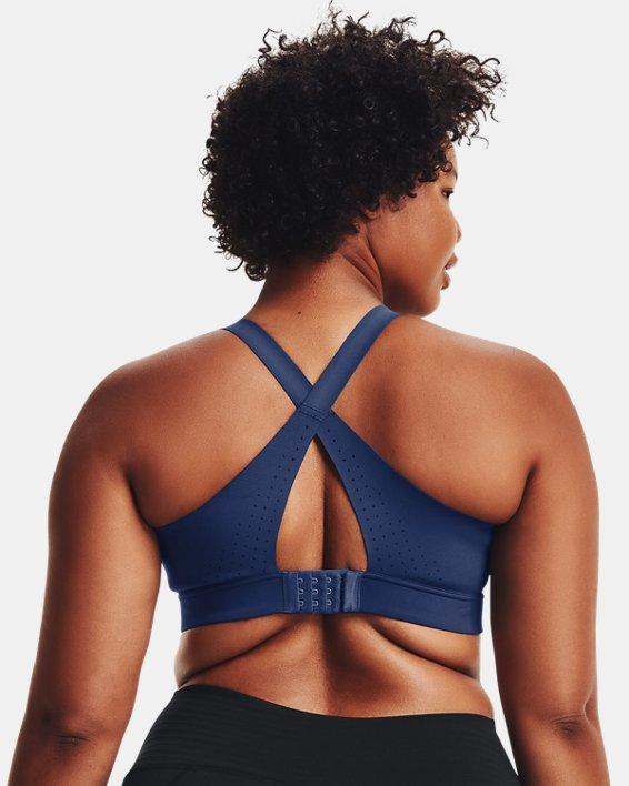 Women's UA RUSH™ High Sports Bra, Pink, pdpMainDesktop image number 5