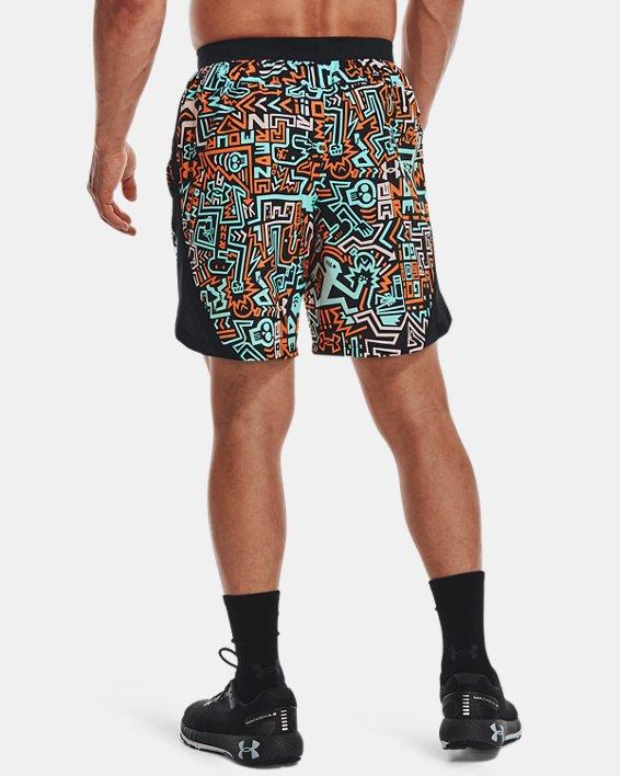 "Men's UA Launch 7"" GRD Shorts, Black, pdpMainDesktop image number 2"