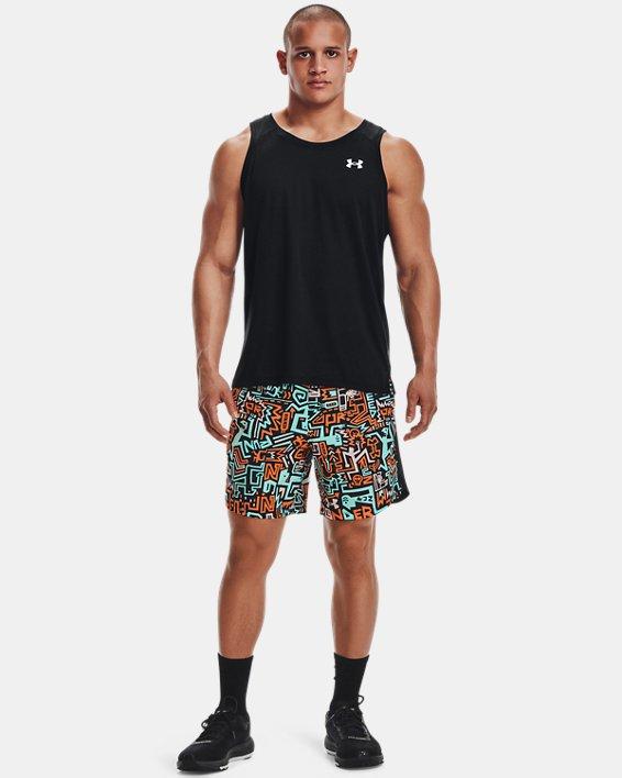 "Men's UA Launch 7"" GRD Shorts, Black, pdpMainDesktop image number 0"