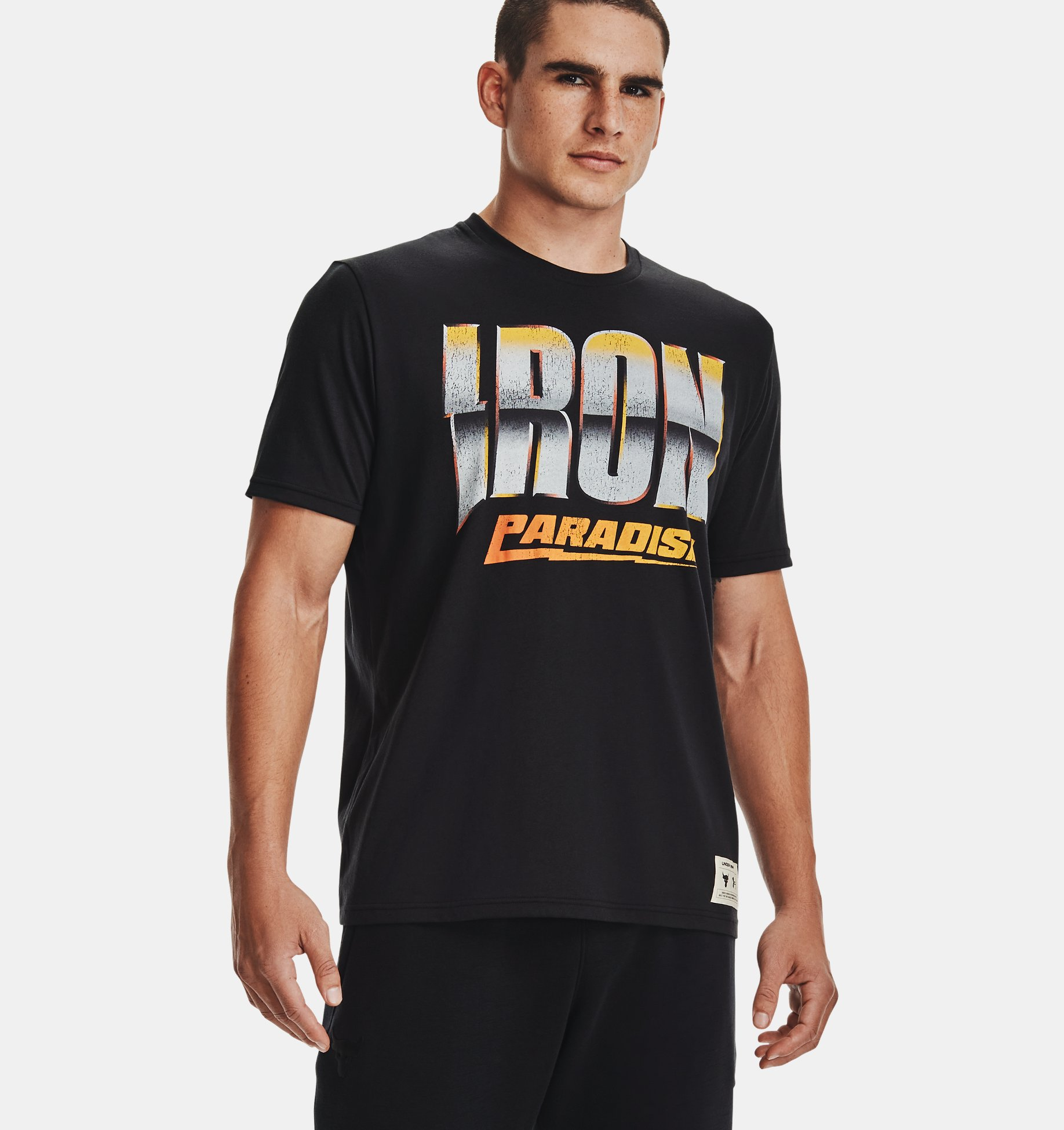 Underarmour Mens Project Rock Dare to Fail Short Sleeve