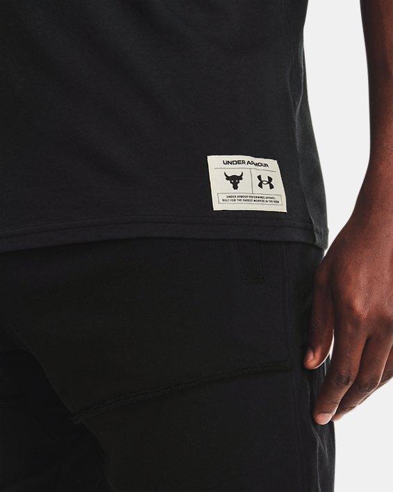 Men's Project Rock Concert Short Sleeve, Black, pdpMainDesktop image number 3