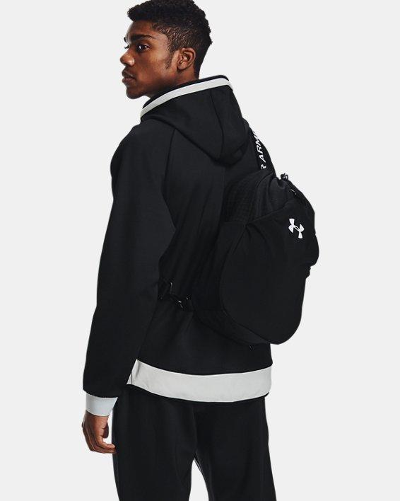 Unisex UA Flex Sling Bag, Black, pdpMainDesktop image number 5