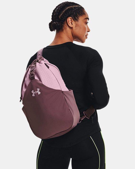 Unisex UA Flex Sling Bag, Purple, pdpMainDesktop image number 5