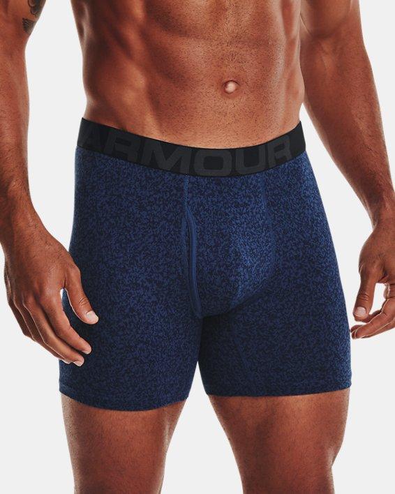"Men's Charged Cotton® 6"" Boxerjock® – 3-Pack, Blue, pdpMainDesktop image number 0"