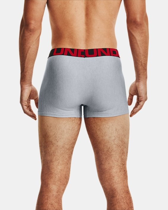 "Men's UA Tech™ 3"" Boxerjock® – 2-Pack, Gray, pdpMainDesktop image number 1"