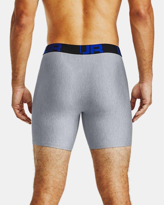 "Men's UA Tech™ 6"" Boxerjock® – 2-Pack, Navy, pdpMainDesktop image number 1"