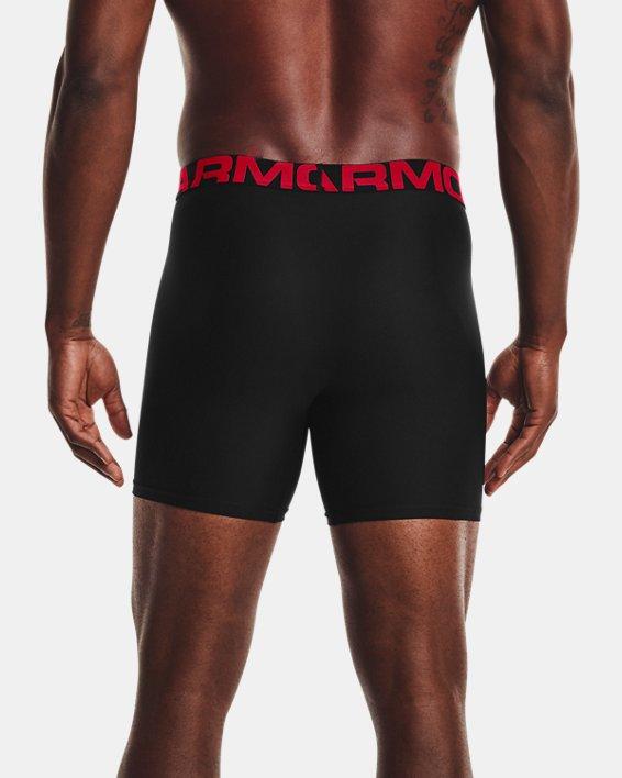 "Men's UA Tech™ 6"" Boxerjock® – 3-Pack, Black, pdpMainDesktop image number 1"