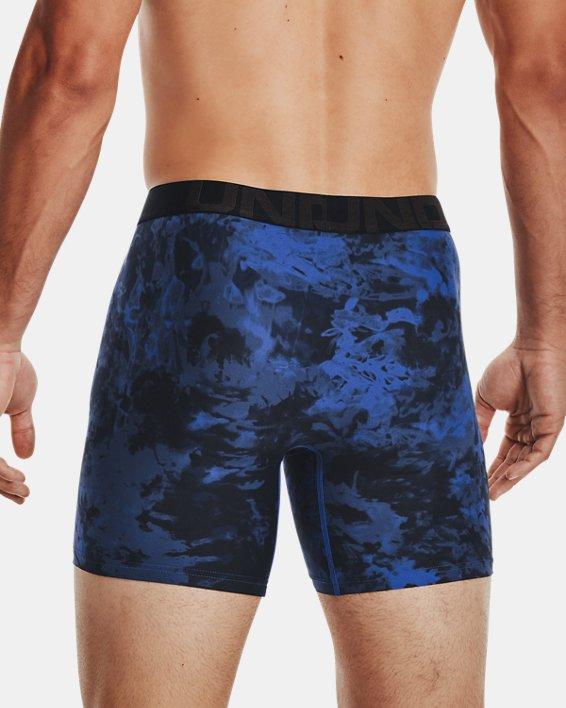 "Men's UA Tech™ 6"" Boxerjock® – 2-Pack, Blue, pdpMainDesktop image number 1"