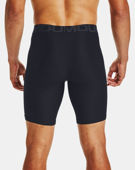 "Men's UA Tech™ 9"" Boxerjock® – 2-Pack, Black, pdpMainDesktop image number 1"