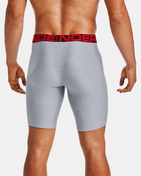 "Men's UA Tech™ 9"" Boxerjock® – 2-Pack, Gray, pdpMainDesktop image number 1"