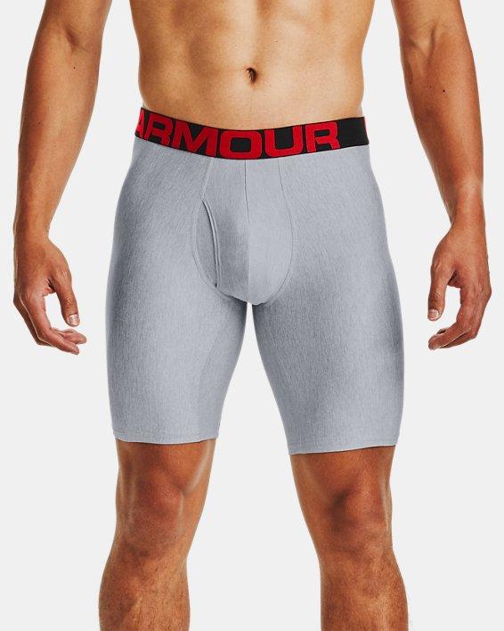 "Men's UA Tech™ 9"" Boxerjock® – 2-Pack, Gray, pdpMainDesktop image number 0"