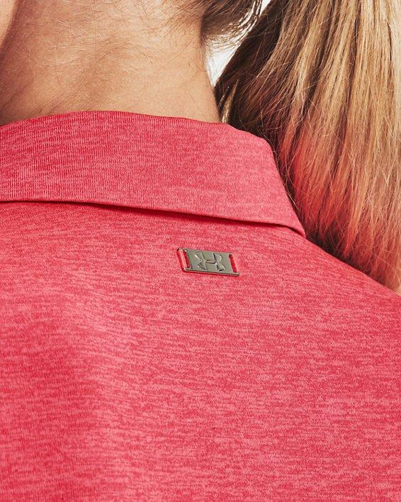 Women's UA Zinger Short Sleeve Polo, Pink, pdpMainDesktop image number 5
