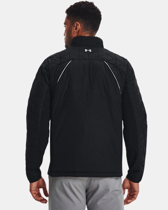 Men's ColdGear® Reactor Golf Hybrid Jacket, Black, pdpMainDesktop image number 1