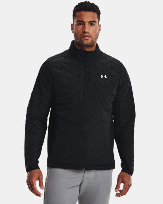 Men's ColdGear® Reactor Golf Hybrid Jacket, Black, pdpMainDesktop image number 0