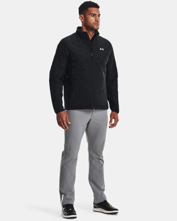 Men's ColdGear® Reactor Golf Hybrid Jacket, Black, pdpMainDesktop image number 2
