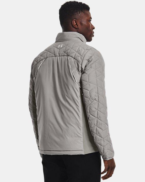 Men's ColdGear® Reactor Golf Hybrid Jacket, Gray, pdpMainDesktop image number 1