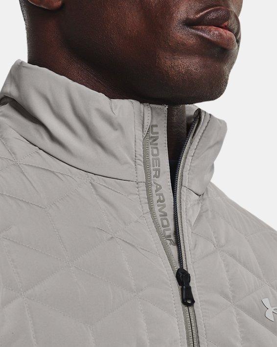 Men's ColdGear® Reactor Golf Hybrid Jacket, Gray, pdpMainDesktop image number 3