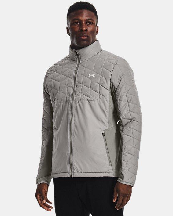 Men's ColdGear® Reactor Golf Hybrid Jacket, Gray, pdpMainDesktop image number 0