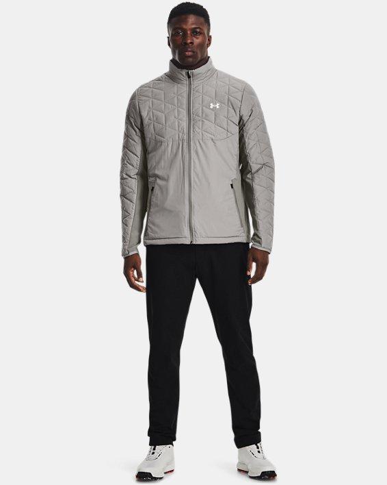 Men's ColdGear® Reactor Golf Hybrid Jacket, Gray, pdpMainDesktop image number 2