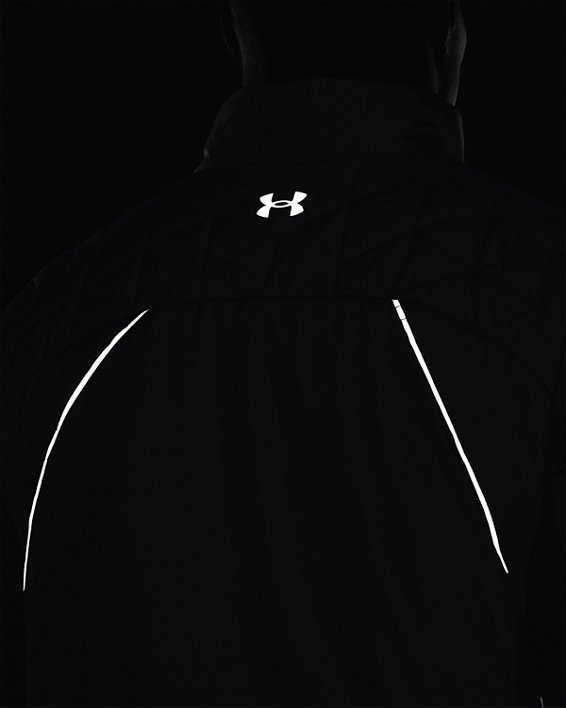 Men's ColdGear® Reactor Golf Hybrid Jacket, Gray, pdpMainDesktop image number 4