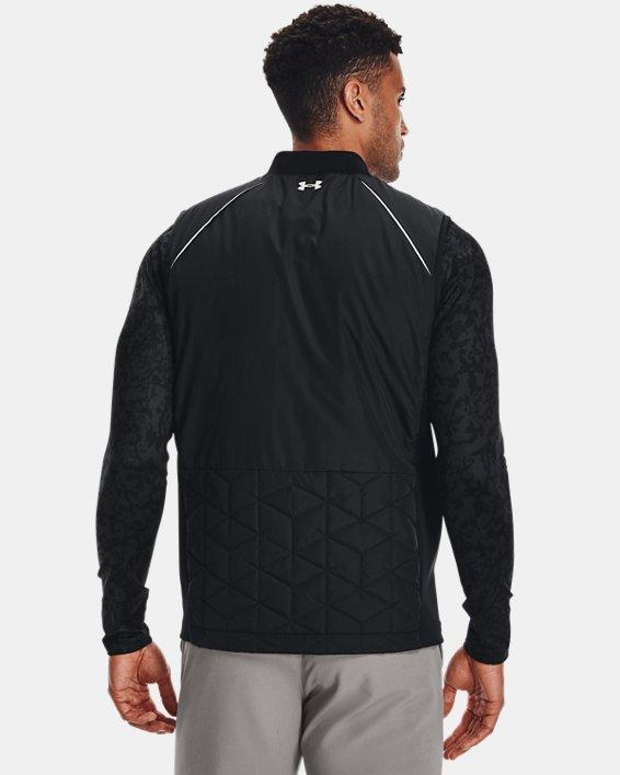 Men's ColdGear® Reactor Golf Vest, Black, pdpMainDesktop image number 1