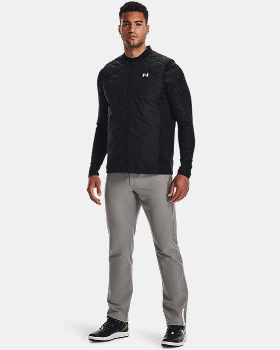 Men's ColdGear® Reactor Golf Vest, Black, pdpMainDesktop image number 2