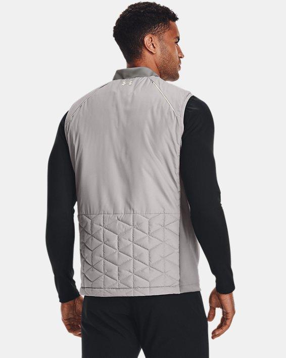 Men's ColdGear® Reactor Golf Vest, Gray, pdpMainDesktop image number 1