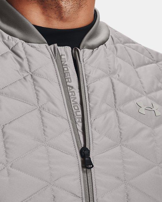 Men's ColdGear® Reactor Golf Vest, Gray, pdpMainDesktop image number 3