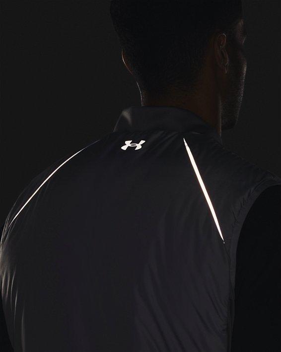Men's ColdGear® Reactor Golf Vest, Gray, pdpMainDesktop image number 4