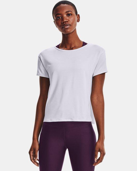 Women's UA Tech™ Vent Short Sleeve, White, pdpMainDesktop image number 1