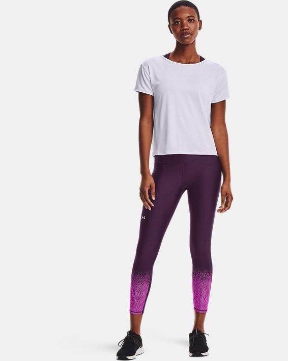 Women's UA Tech™ Vent Short Sleeve, White, pdpMainDesktop image number 2