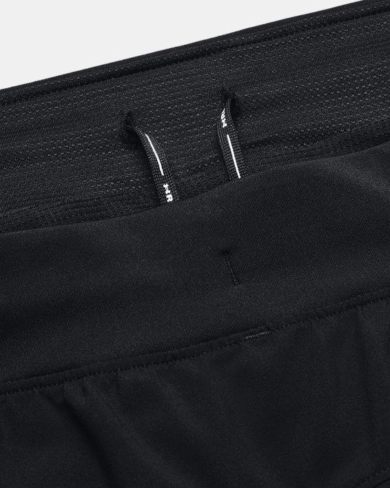 Men's UA Iso-Chill Run 2-in-1 Shorts, Black, pdpMainDesktop image number 9