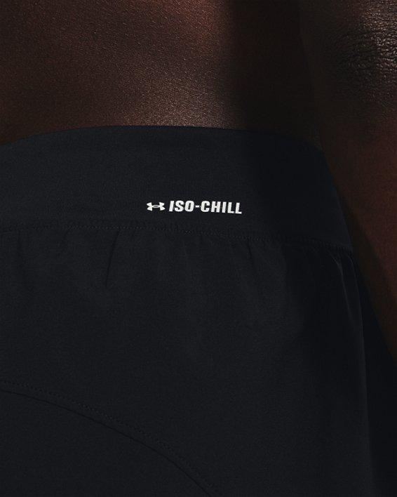 Men's UA Iso-Chill Run 2-in-1 Shorts, Black, pdpMainDesktop image number 3