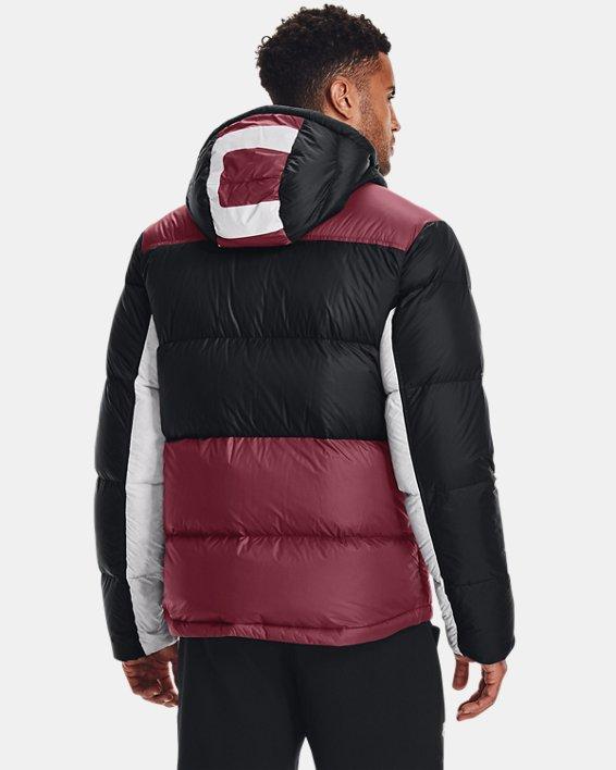 Men's ColdGear® Infrared Down Blocked Jacket, Red, pdpMainDesktop image number 1