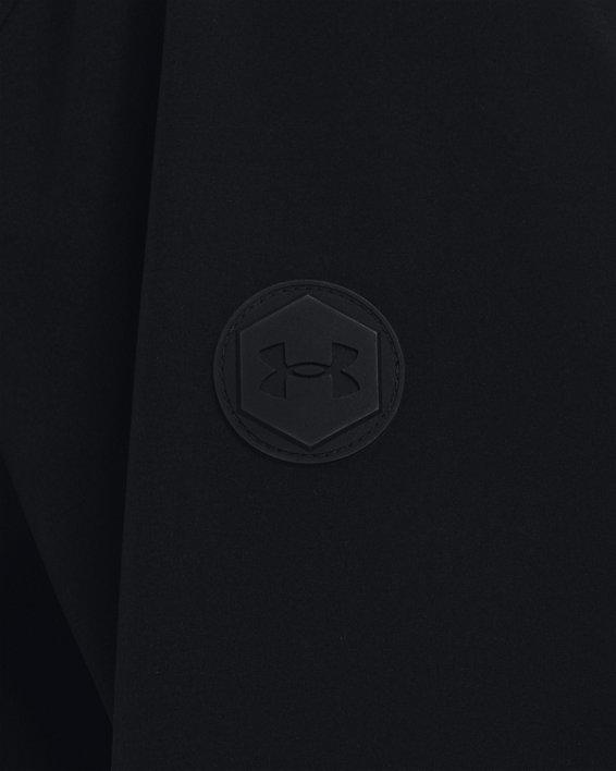 Men's UA RUSH™ Woven Shell Parka, Black, pdpMainDesktop image number 4