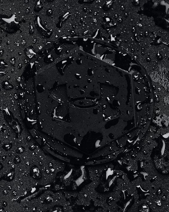 Men's UA RUSH™ Woven Shell Parka, Black, pdpMainDesktop image number 6