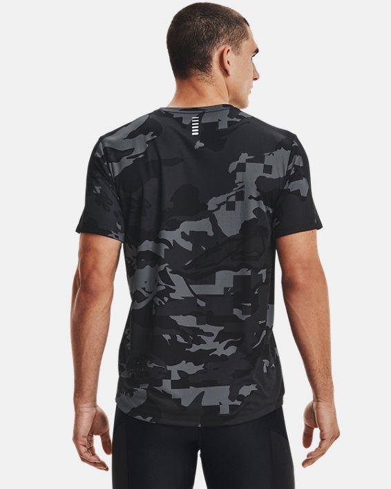 Men's UA Speed Stride Printed Short Sleeve, Black, pdpMainDesktop image number 2
