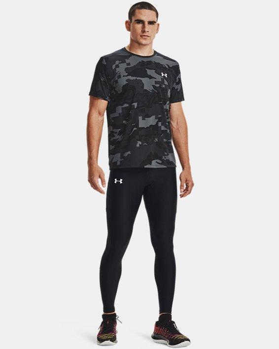Men's UA Speed Stride Printed Short Sleeve, Black, pdpMainDesktop image number 0