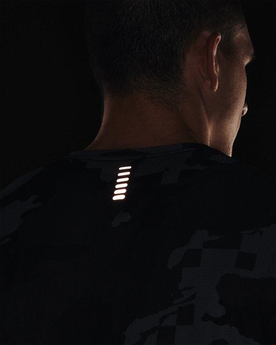 Men's UA Speed Stride Printed Short Sleeve, Black, pdpMainDesktop image number 5