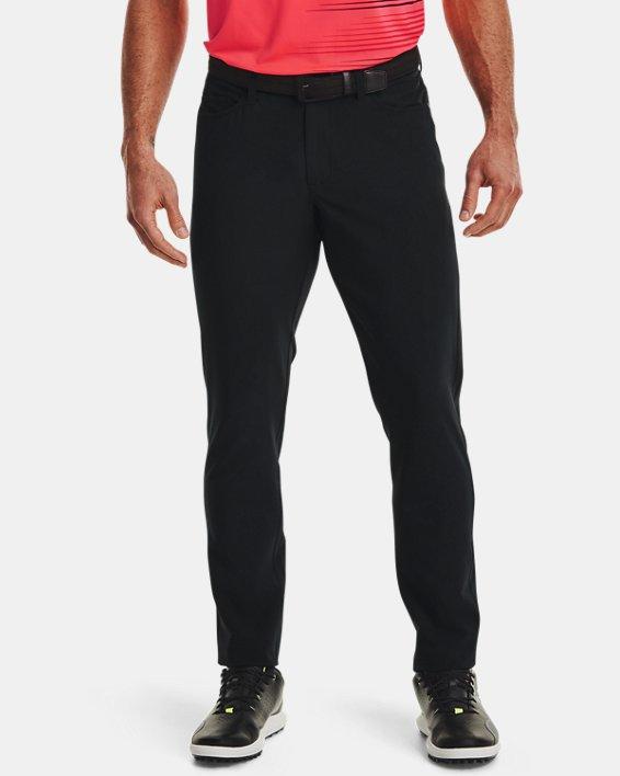 Men's UA Drive 5 Pocket Pants, Black, pdpMainDesktop image number 0