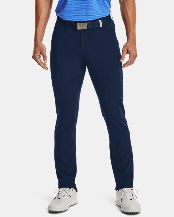 Men's UA Drive 5 Pocket Pants, Navy, pdpMainDesktop image number 0