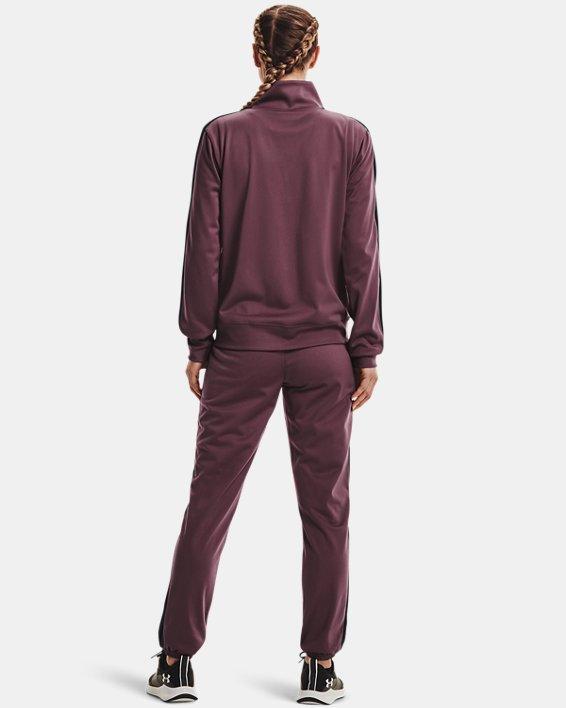 Women's UA Tricot Tracksuit, Purple, pdpMainDesktop image number 1
