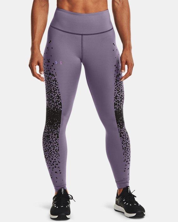 Women's UA RUSH™ No-Slip Waistband Full-Length Leggings, Gray, pdpMainDesktop image number 0