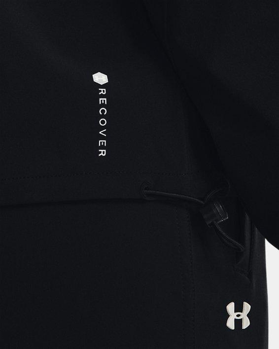 Women's UA RUSH™ Woven Jacket, Black, pdpMainDesktop image number 3
