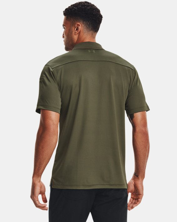 Men's UA Tactical Performance Polo 2.0, Green, pdpMainDesktop image number 1